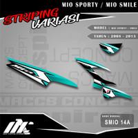 STRIPING VARIASI MIO SPORTY / SMILE - SMIO 14 - STIKER MOTIF RACING