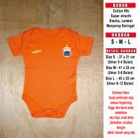 Baju Bola Bayi/Baby Romper/Baby Jumper Persija 3rd (TANPA SPONSOR)