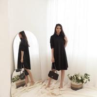 Cotton Shirt Dress - 14 Color & 2 Size