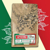 Biji / Bubuk Kopi House Blend Cappuccino Del Italiano 500gr