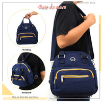 MOIS DE MARS - BEA - Backpack Multifunction - Biru