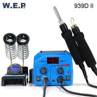 WEP 939D-II Dual Ukiran Pyrography Pena Kayu And Soldering Iron