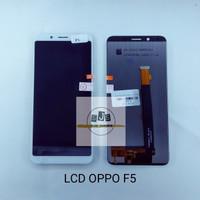 LCD TOUCHSCREEN OPPO F5 YOUTH/A73 BLACK/WHITE HITAM DAN PUTIH AA