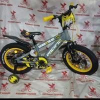 sepeda anak 18 bmx pacific batman ban besar