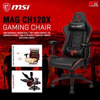 MSI MAG CH120X GAMING CHAIR - KURSI GAMING