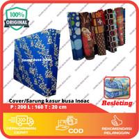 Cover/Sarung Kasur Busa no.2 ukuran 200 x 160 x 20 cm