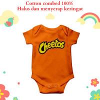 Baju jumper bayi unik lucu motif karakter cheetos