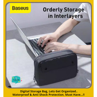 BASEUS Digital Storage Bag Pouch Travel Organizer Tas Waterproof