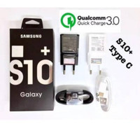 CHARGER SAMSUNG GALAXY S10+ KABEL DATA TYPE - C FAST CHARGING