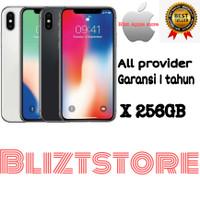 Apple iPhone X- 256GB 100% ORIGINAL (GARANSI 1 Tahun)
