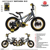 Sepeda anak BMX 16 Inch Pacific Batman ban besar 8.0