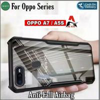 Case OPPO A7 / A5S Shockprof Armor Transparan Premium Softcase
