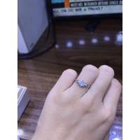 Cincin emas putih cp0460
