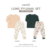 ARDENLEON Long Pyjama Set Print