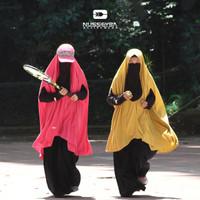 KHEVA KHIMAR - Khimar Bolong Tangan - Nusseyba Activewear