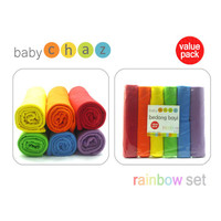 Bedong Baby Chaz -6pc