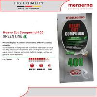 Menzerna 400 Heavy Cut Compound Green Line Sachet 20 ml