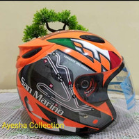 Helm Ink motif - Orange