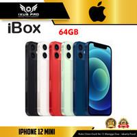 Apple iPhone 12 Mini 64GB 128GB 256GB - Garansi Resmi iBox - BLACK, 64 gb