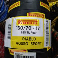 Ban motor Sport PIRELLI DIABLO ROSSO SPORT Ukuran 130/70 ring 17