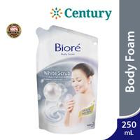 Biore Body Foam Whitening Scrub Refill 250ml / Sabun Cair / Body Wash