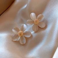 Anting bunga korea cantik aksesoris wanita fashion premium import