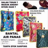 Bantal isi Air Panas Hot Pillow terapi elektrik portable Kepala Mobil