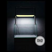 paket lengkap kabinet tank aquarium led type hanging ukuran 60cm