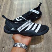 Sepatu Adidas Climacool Jawpaw Slip On Black White