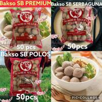 Bakso sapi SB premium isi 50 Bakso sapi Sumber Selera Kebun jeruk