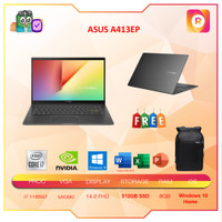 ASUS A413EP VIPS751 i7 1165G7 8GB 512ssd MX330 OHS FHD VIPS752 VIPS753