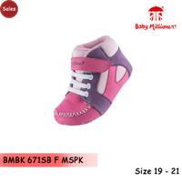 sepatu bayi cewek prewalker perempuan baby millioner BMBK 480