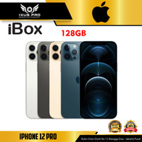 Apple iPhone 12 Pro 512GB 256GB 128GB - Garansi Resmi iBox
