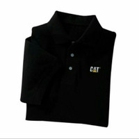 Polo shirt Tshirt Kaos Kerah Caterpillar
