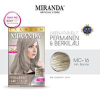 Miranda Hair Color MC16 Ash Blonde 30ml