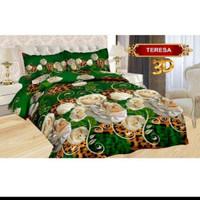 Bedcover Set King Bonita Motif Teresa 180x200 cm