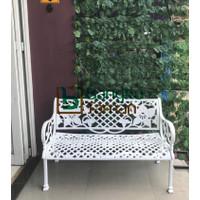 Kursi taman besi cor jasmine antik