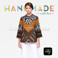 Blouse Batik Wanita Atasan Top Tenun Troso Songket Spesial