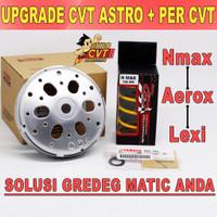 Mangkok Kampas Ganda Solusi Gredeg LEXI AEROX NMAX plus Per CVT PCX - NMAX 2014-2016