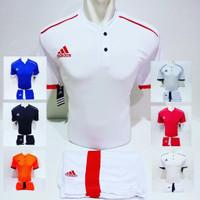 Baju Futsal Jersey Olahraga Kaos Sepak Bola Setelan Adidas