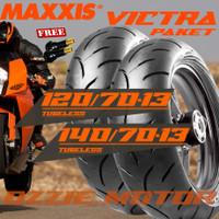 PAKET BAN MOTOR NMAX MAXXIS VICTRA 120/70 13 & 140/70 13 UPSIZE