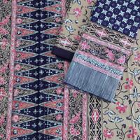 sarimbit kain batik motif bahan katun trusmi cirebon