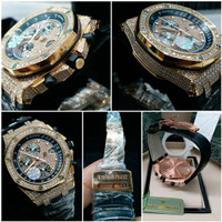 AUDEMARS GB PIGUET ROYAL OAK OFFSHORE ROO 26067OR DIAMOND ROSEGOLD JF