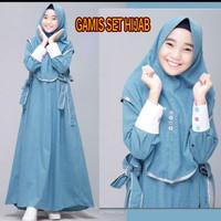 Gamis Anak Cewe Terbaru Baju Muslimah Anak umur 12 - 19 tahun Terkini