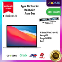Apple Macbook Air 2020 M1 Chip 13 inch 8GB 256G SSD Touch ID Grey
