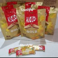 Coklat Kitkat gold limited edition 8x17gr 2 fingers / Kitkat Gold