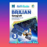 Buku Brilian Geografi Kelas 12/XII SMA Grafindo K13 Revisi