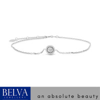 Gelang Berlian / Bracelet Solitaire - Belva Jewellery - BABEAU01778 - ROSE GOLD