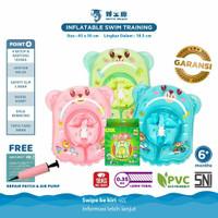 Doctor Dolphin Inflatable Swim Training / Ban Renang Bayi / Pelampung - Pink