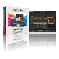 Arturia Synths Collection 2021 Full version DVD